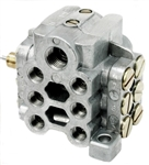 Bijur #43000-1  U12M Divider Valve with Cycle Switch