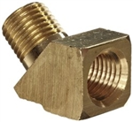 Bijur 45 Degree Connector 1/8 NPT  #B3133C